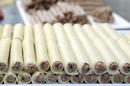 Aux Pâtes Fraîches vend des pâtes maison fabriquées dans son atelier-épicerie italienne en centre-ville de Nîmes. Ici des cannellonis frais et faits maison.( ® SAAM-fabrice Chort)