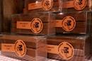 Quand j'étais petit Chocolat Nîmes propose des barres de chocolats Malakoff en centre-ville (® networld/fabrice chort)