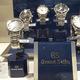 Thomas Joaillier Nîmes vend des montres luxe Grand Seiko dans sa bijouterie du centre-ville.